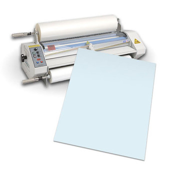 Laminator and light blue carrier