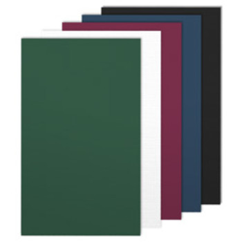 Multicolored paper binding covers