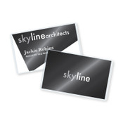 Self laminating business card size pouches 100bx self laminating business card pouches 2 58 x 4 100bx reheart Choice Image