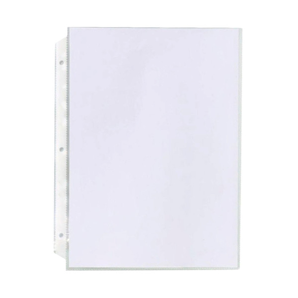 Clear plastic sheet protectors top loading sheet protectors for Letter size sheet protectors