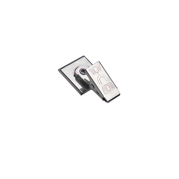 Nickel-Plated Badge Clips