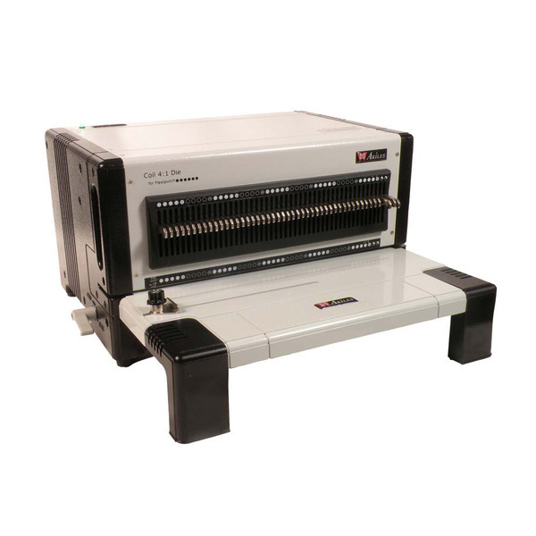 Akiles CoilMac M Plus Heavy Duty Spiral Binding Machine further Akiles FlexiPunch E Electric Punch together with 10mm Black Coil Bindings Qty 100 Color Black Material Oficina together with 47512432 together with . on office depot coil binding machine