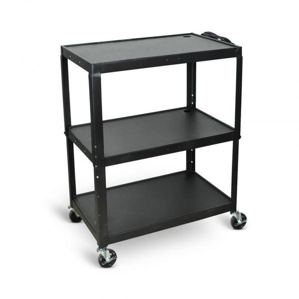 3 shelf cart on wheels