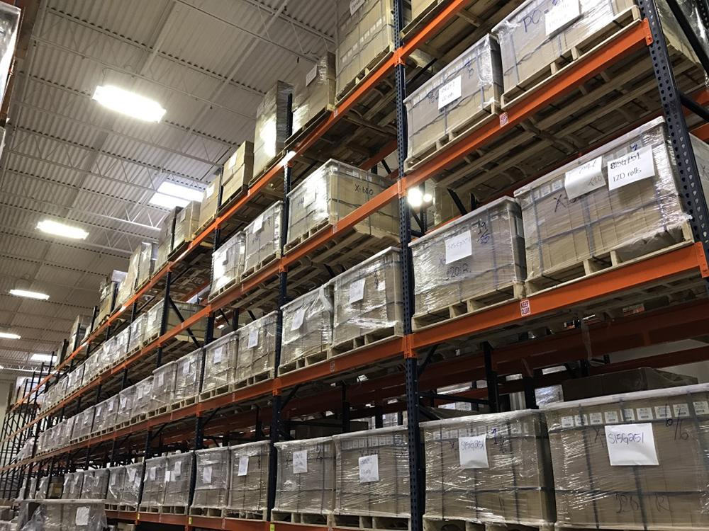 Lamination Depot warehouse interior