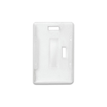 Milky White Plastic Card Dispenser