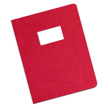 red 12 mil Leatherette cover