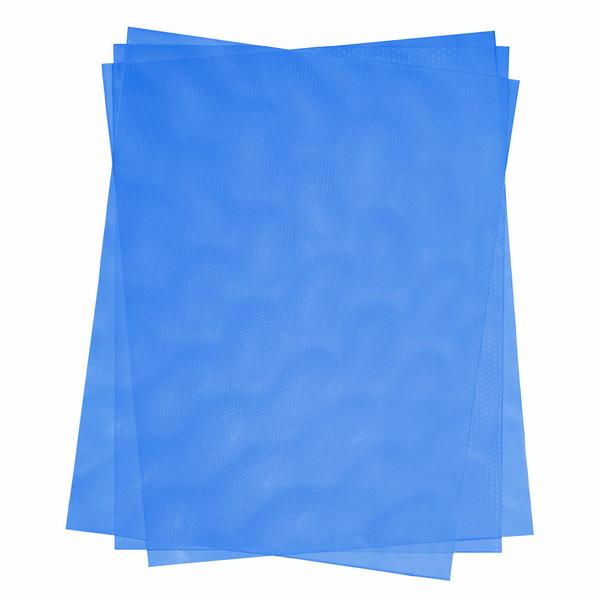 blue 16 mil hologram texture cover