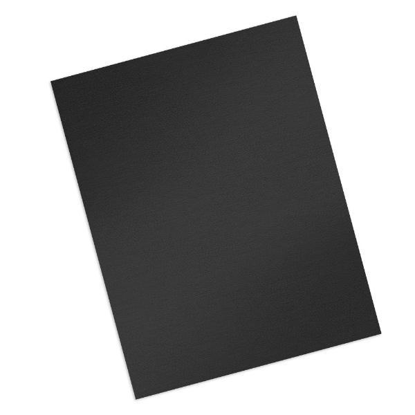 black 16 mil grain covers