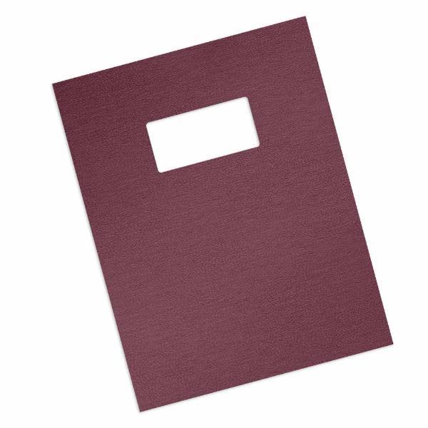 maroon 16 mil grain covers