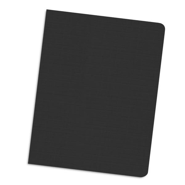 black 12 mil linen weave cover