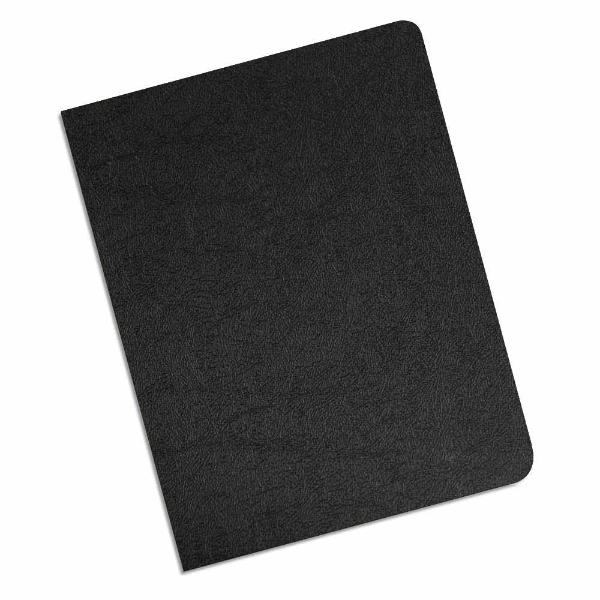 black 16 mil leatherette polycovers