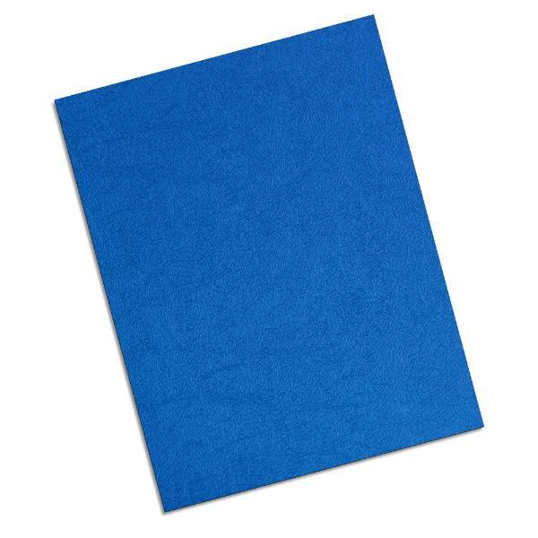 blue 16 mil leatherette polycovers