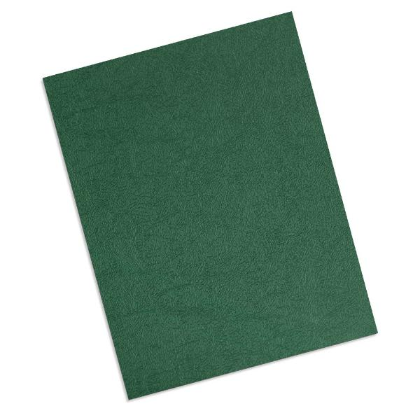 green 16 mil leatherette polycovers