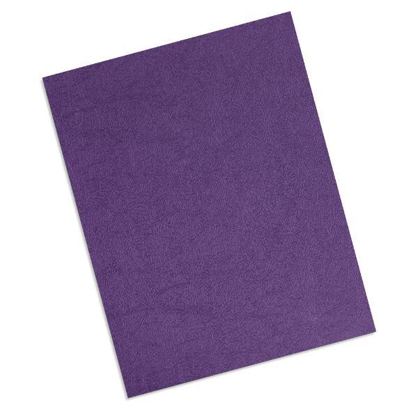 purple16 mil leatherette polycovers