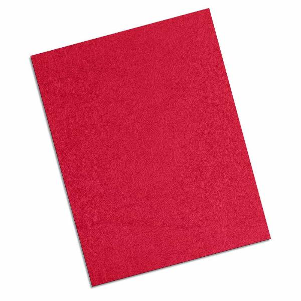 red 16 mil leatherette polycovers