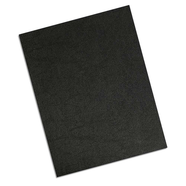 single polycover in black grain