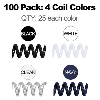 multi-pack 4 colors 25 each
