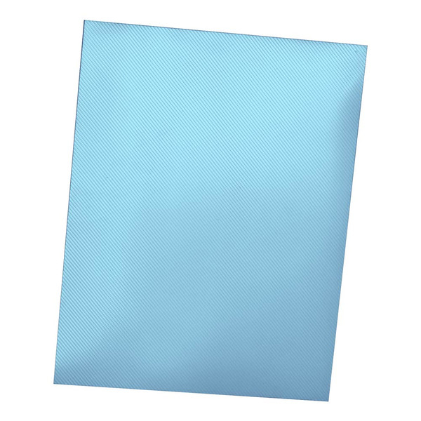 blue 12 mil striped polycover