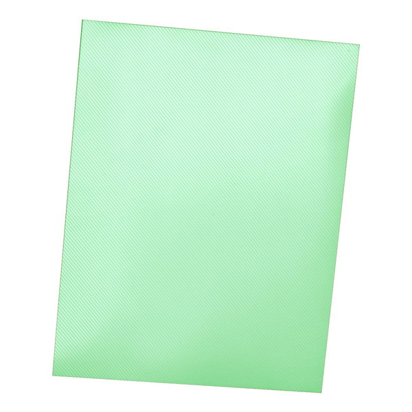 green 12 mil striped polycover