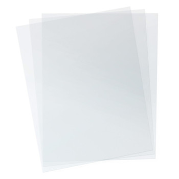 pack of clear pvc covers
