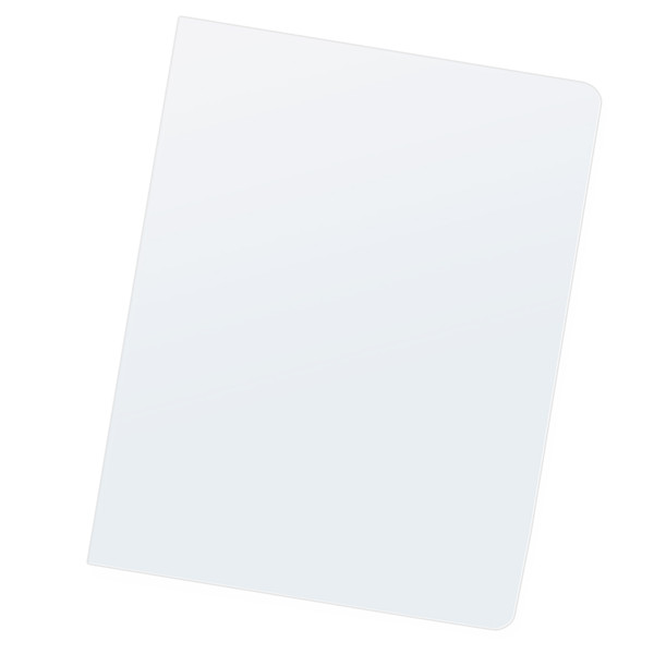 pack of 5 mil clear pvc covers