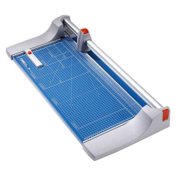 Blue and Grey Premium 26.375 In. Rolling Paper Trimmer