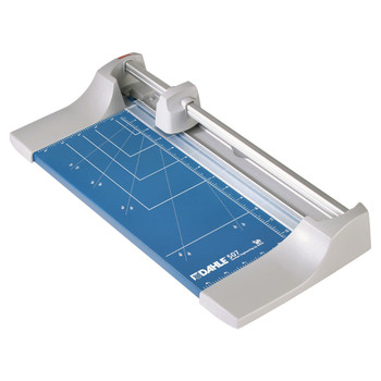 Blue and Silver 12.5 In. Rolling Paper Trimmer