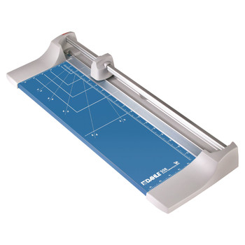 Blue and Silver 18 In. Rolling Paper Trimmer