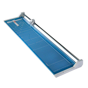 Blue 51 In. Rolling Paper Trimmer with guild lines