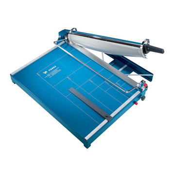 Blue 21.5 In. Guillotine Paper Trimmer with guide lines