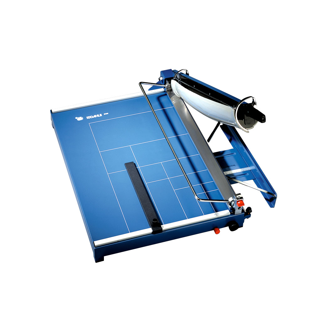 Dahle 561 Premium Guillotine Trimmer 35 Sheet Capacity w//Safety Guard Automatic Clamp 14-1//8 Cut Length Self-Sharpening Blade