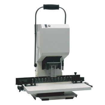 Black and grey 2.1 Spinnit Table-Top Paper Drill