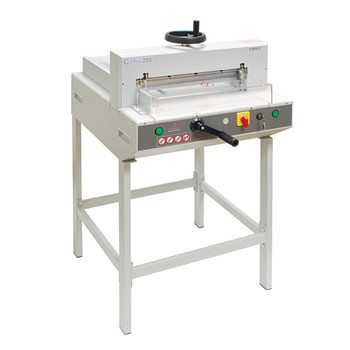Tan 22S Electric Guillotine Paper Cutter with crank