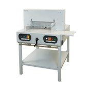 Tan Semi-Automatic Electric Cutter With Laser Line & Metal Stand