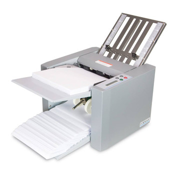Grey document folder for table top