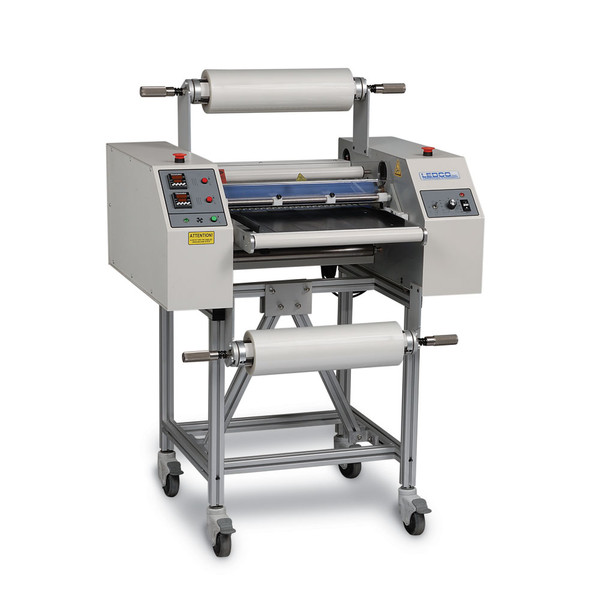 Laminator with stand and casters
