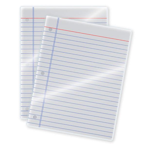 3 mil laminated document