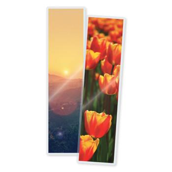 5 mil laminated bookmarks