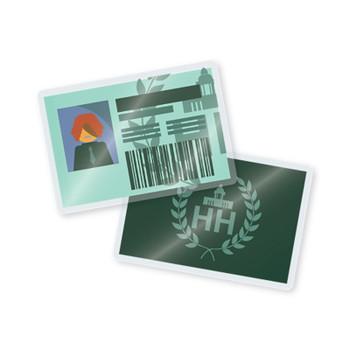 5 mil laminated school id cards