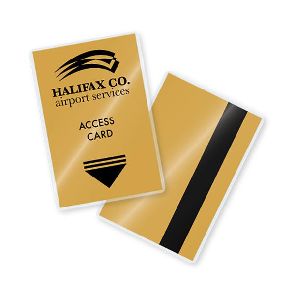 7 mil laminated key card