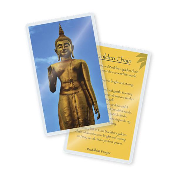 7 mil laminated prayer card