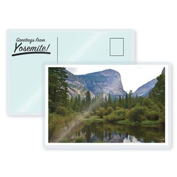 7 mil laminated post card