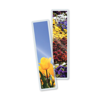 bookmarks, 5 mill laminating pouch