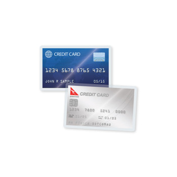 credit card laminating pouches 10 m