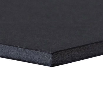 Black Foam Board, No Adhesive layer