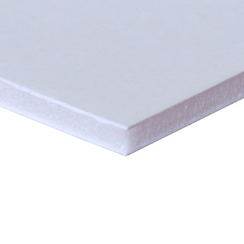 White Foam Board, No Adhesive layer