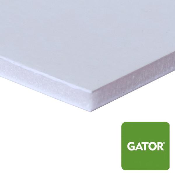 White Gator Board, No Adhesive - side view