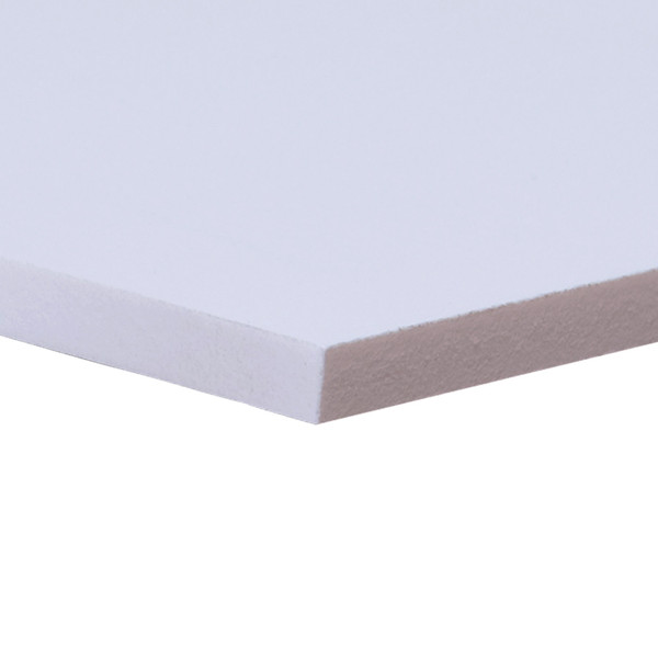 White Sintra Board 6mm Thick No Adhesive Qty 5