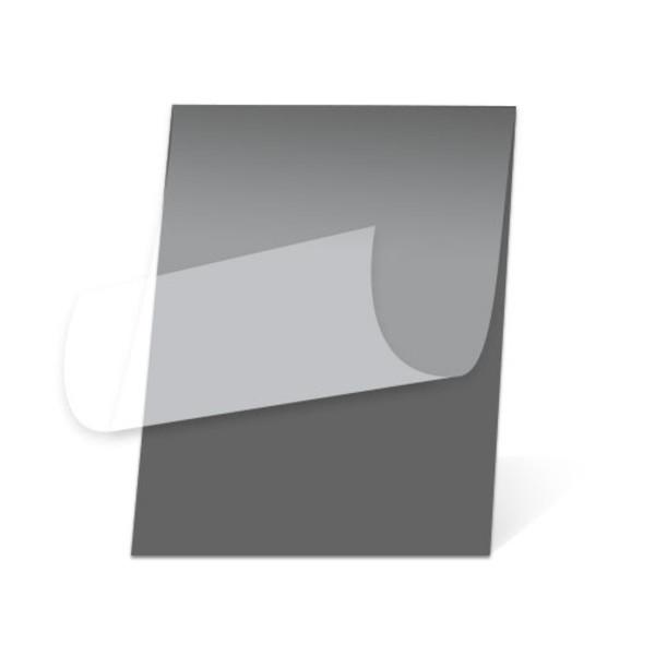 Heat Activated Pouch Black Foam Board, Matte Film layer