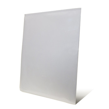 White Paper Pouch Boards With Built-In Easels - Gloss